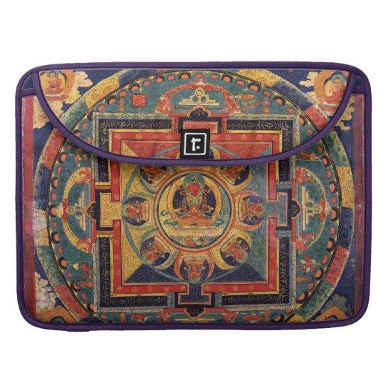 Mandala Antique Tibetan Buddha Sleeve For MacBook Pro
