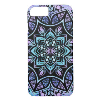 Mandala Apple iPhone 8/7, Barely There Phone Case
