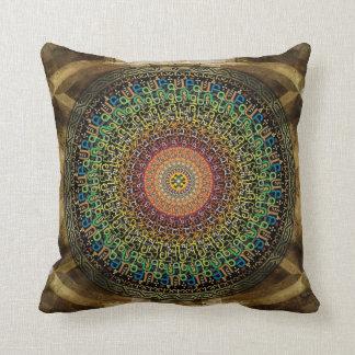 Mandala Armenian Alphabet Cushion