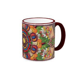 Mandala Armenian Grapes Mug