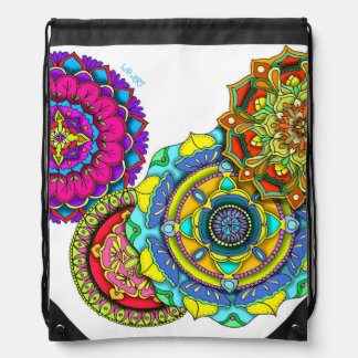 Mandala Art - Balance Drawstring Bag