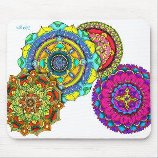 Mandala Art - Balance Mouse Mat