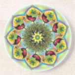 Mandala Art Beverage Coasters