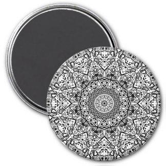 Mandala Art Magnet