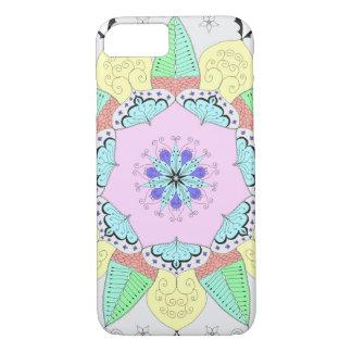 Mandala Art Patterns Designs Flower Floral Yoga om iPhone 8/7 Case