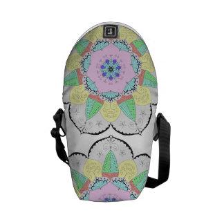 Mandala Art Patterns Designs Yoga Floral flower om Commuter Bag