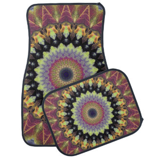 Mandala Autumn Car Mat