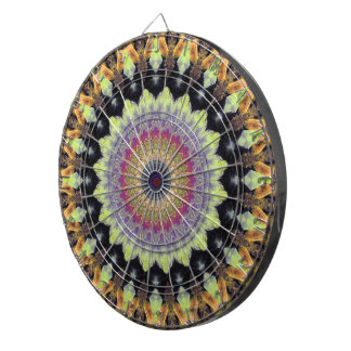 Mandala Autumn Dartboard