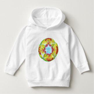Mandala baby hoodie