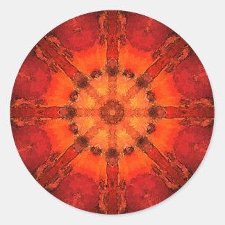 Mandala 'Bangalore' Classic Round Sticker