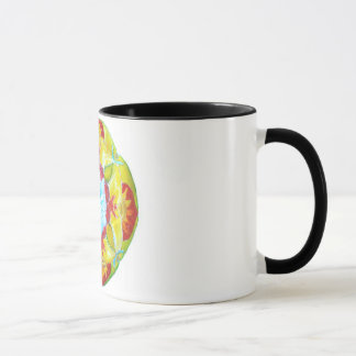 Mandala Black 325 ml  Ringer Mug