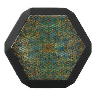 mandala black bluetooth speaker