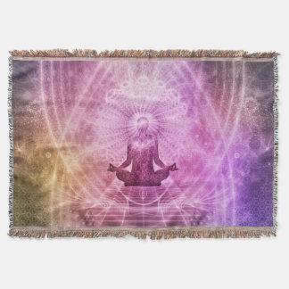 Mandala Blanket for Yoga and Meditation