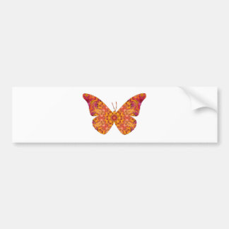 Mandala Butterfly20 Bumper Sticker