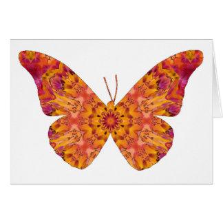 Mandala Butterfly20 Card