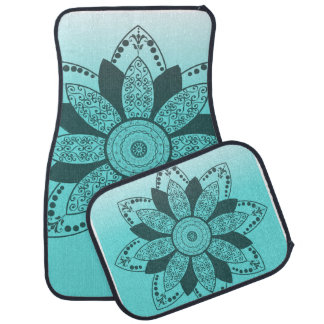 Mandala by Kimologie Car Mat