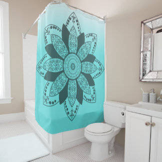 Mandala by Kimologie Shower Curtain