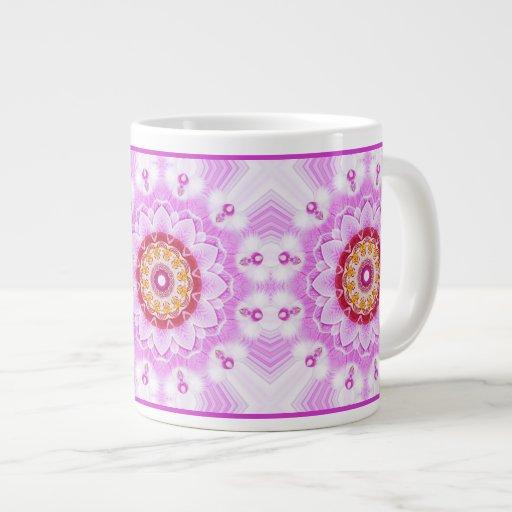Mandala (C) from Radiant Orchid Closeup Photo Extra Large Mugs