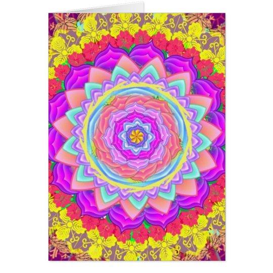 Mandala - card
