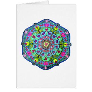 Mandala Card ~ Pool of Reflection