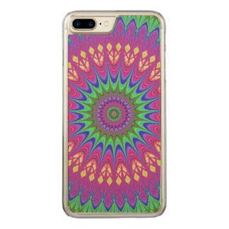 Mandala Carved iPhone 7 Plus Case