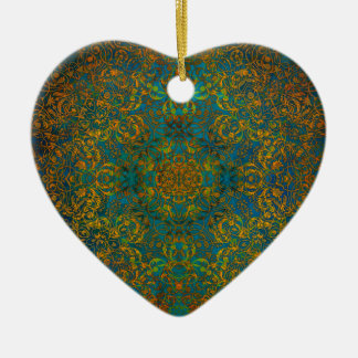 mandala christmas ornament