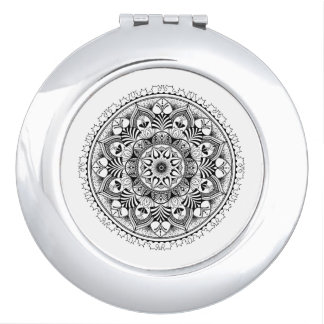 Mandala Circle Vanity Mirror