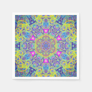 "Mandala ""Clown"" Paper Napkins by MAR"