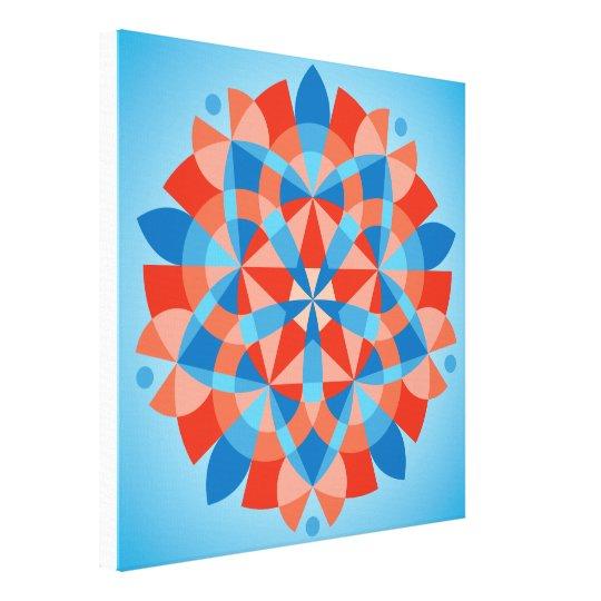 Mandala Cognition Canvas Print