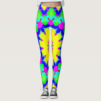 Mandala Colorful and Fun Leggings