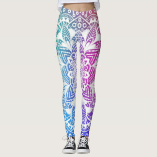 Mandala colorful leggings