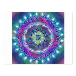 Mandala Cosmic Energy Post Card