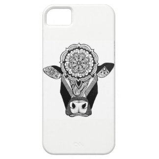 Mandala Cow Phone Case