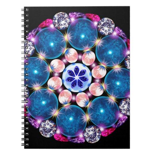 Mandala Crystal Earth Notebook