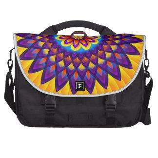 Mandala Dahlia Laptop Computer Bag