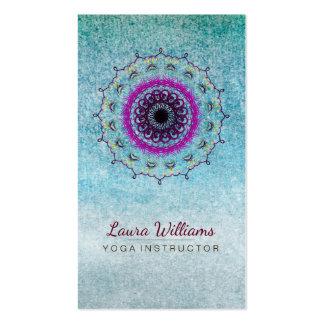 Mandala Damask Lotus Flower Meditation Holistic Pack Of Standard Business Cards