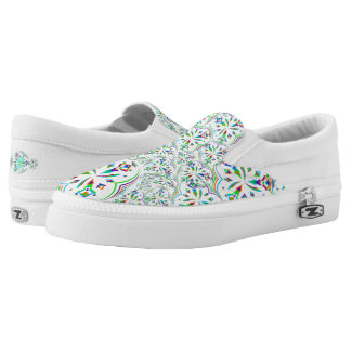 Mandala Design 02 - Slip On Shoes