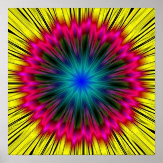 Mandala Digital print