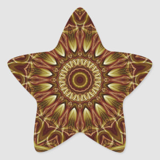 Mandala Divine Love no. 2 created by Tutti Star Sticker