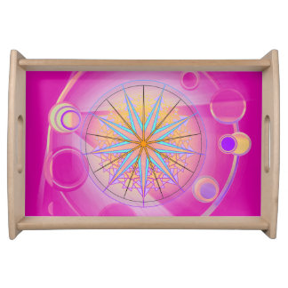 Mandala Dream 19 Serving Tray
