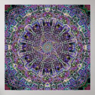 Mandala Dream Catcher Poster