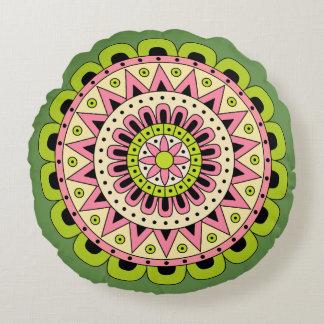 Mandala Dua Round Cushion