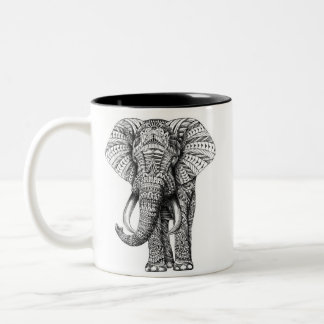 Mandala Elephant Mug