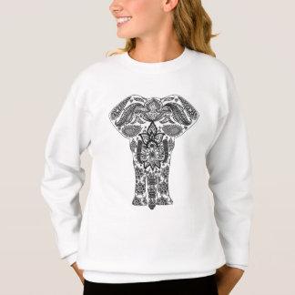 Mandala  Elephant Sweatshirt