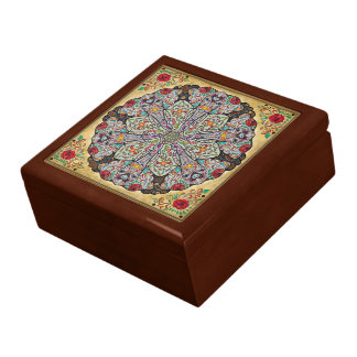 Mandala Elephants Gift Box