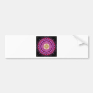 Mandala emotion bumper stickers