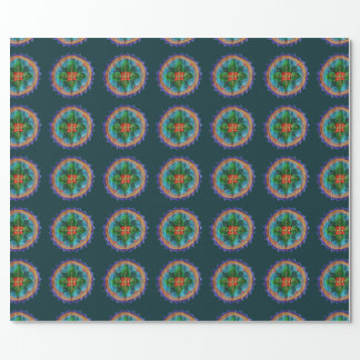 Mandala Floral Wrapping paper