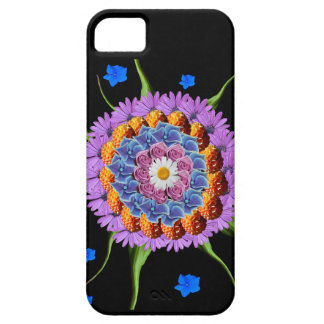Mandala Flower Collage Case For The iPhone 5
