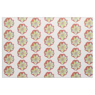 Mandala Flower Fabric
