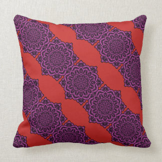 Mandala Flower Pillow 1